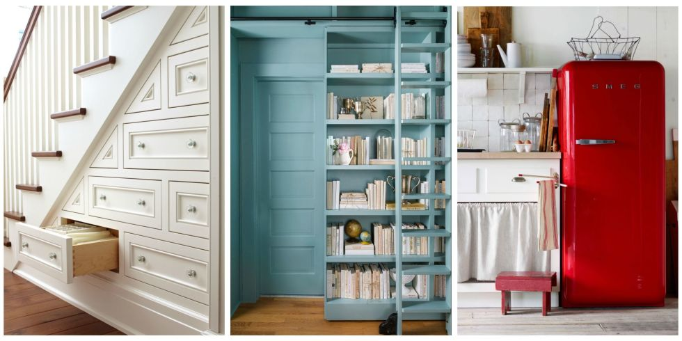 these small space decorating ideas storage solutions and smart finds will help you maximize every square foot - Storage For Small Spaces Rooms