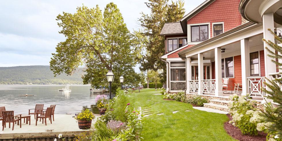 Thom Felicia Upstate New York Lake House Lake House Decorating Ideas
