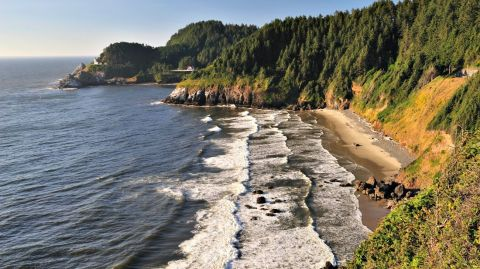 The Most Beautiful Small Town In America Florence Oregon