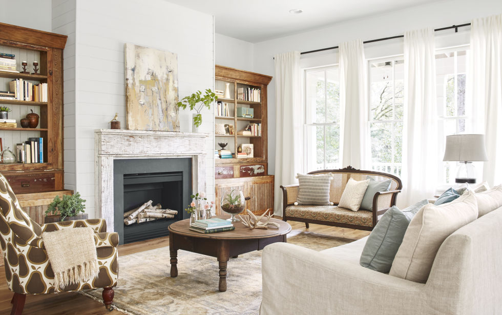 decorating ideas for living rooms. Living Room Lauren Crouch Georgia Farmhouse  Southern Decorating Ideas