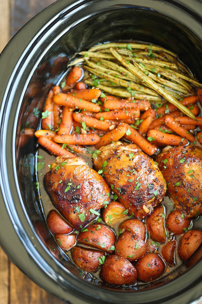 Healthy crock pot recipes easy chicken