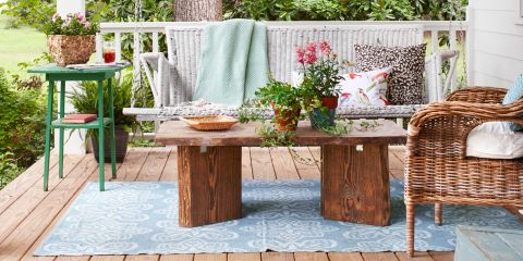 100+ best outdoor decor ideas - country living - country living