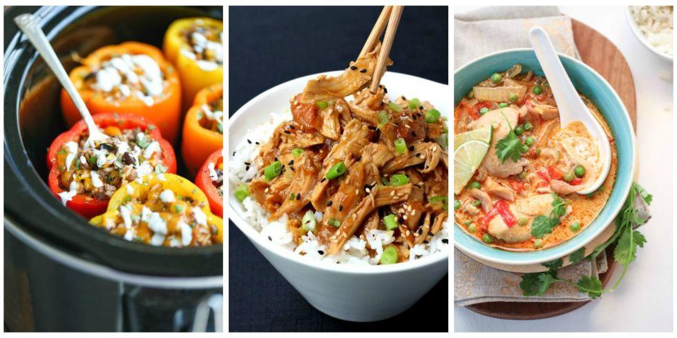 40 Healthy Crock Pot Recipes - Easy Slow Cooker Dinner Ideas