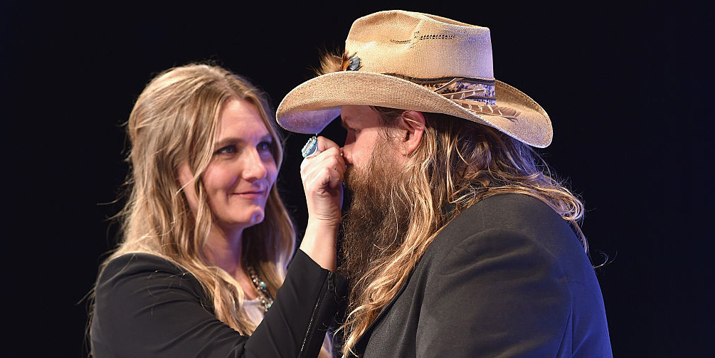 How chris and morgane stapleton met chris and morgane for How many kids does chris stapleton have