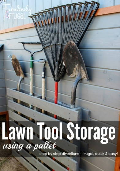 Backyard Storage Ideas hide away bike storage awesome idea followpicsco hide away Youve Probably Seen Pallets Used At Hardware Stores For Transporting Supplies But They