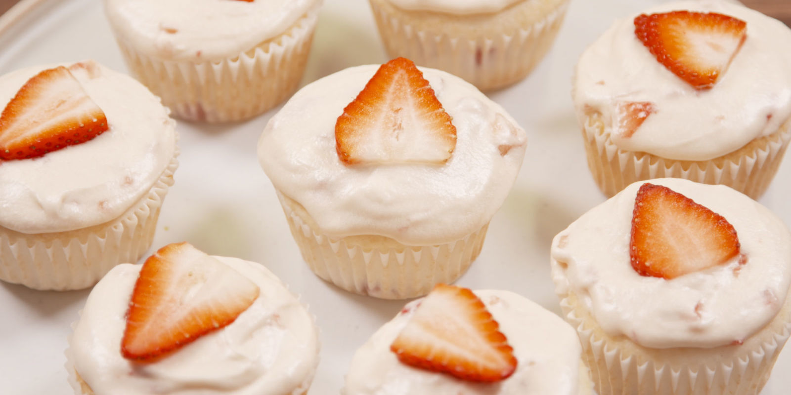 ... and Champagne Cupcakes - Best Cupcake Recipes - Delish.com
