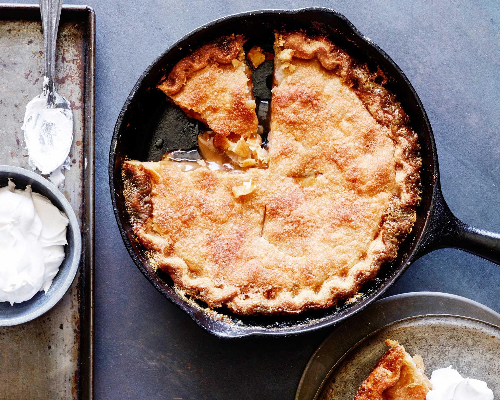 Mrs Carter S Skillet Apple Pie Recipe Trisha Yearwood