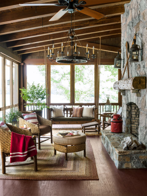 Screened In Porch Ideas Design transition example with furniture placement another screen porch 65 Best Patio Designs For 2017 Ideas For Front Porch And Patio Decorating