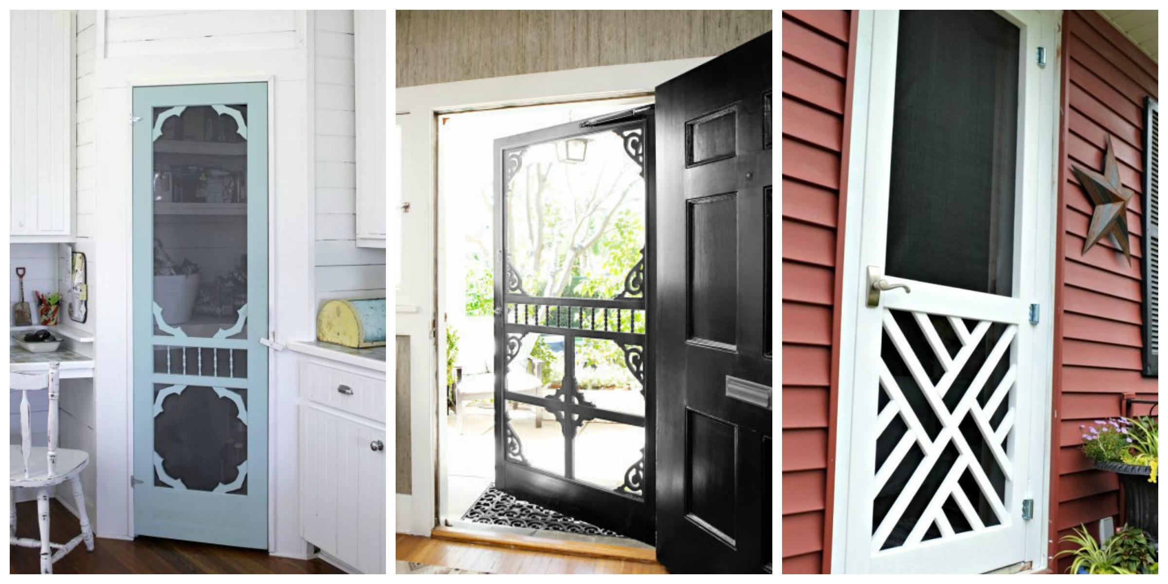 Screen door ideas ways to use doors