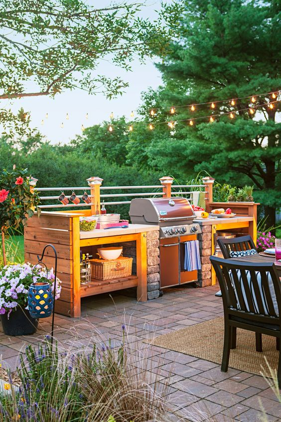15 Best Outdoor Kitchen Ideas And Designs   Pictures Of Beautiful Outdoor  Kitchens Part 60
