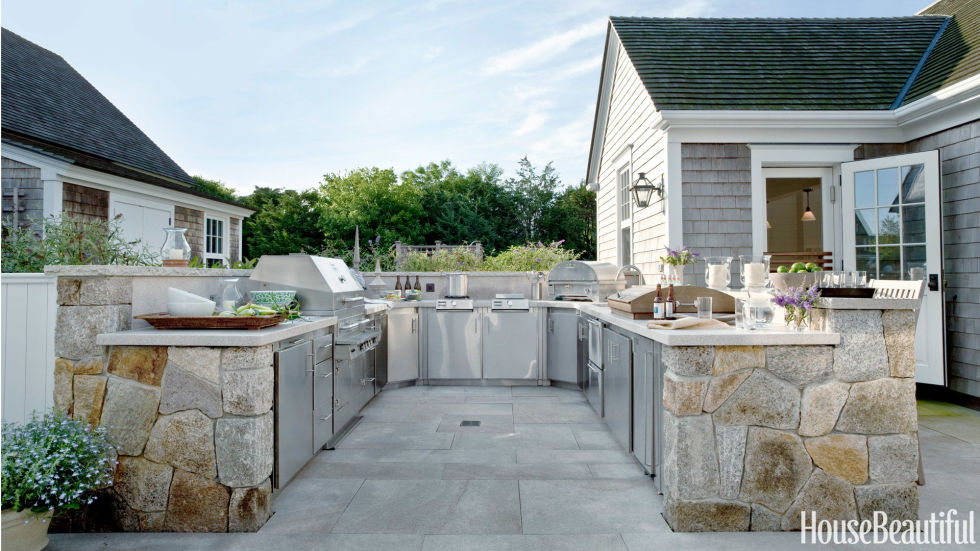 15 Best Outdoor Kitchen Ideas And Designs   Pictures Of Beautiful Outdoor  Kitchens Part 40