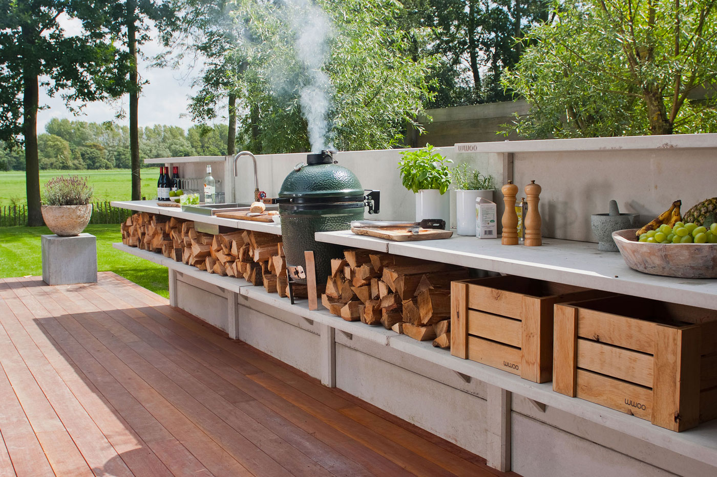 Great 15 Best Outdoor Kitchen Ideas And Designs   Pictures Of Beautiful Outdoor  Kitchens Part 12