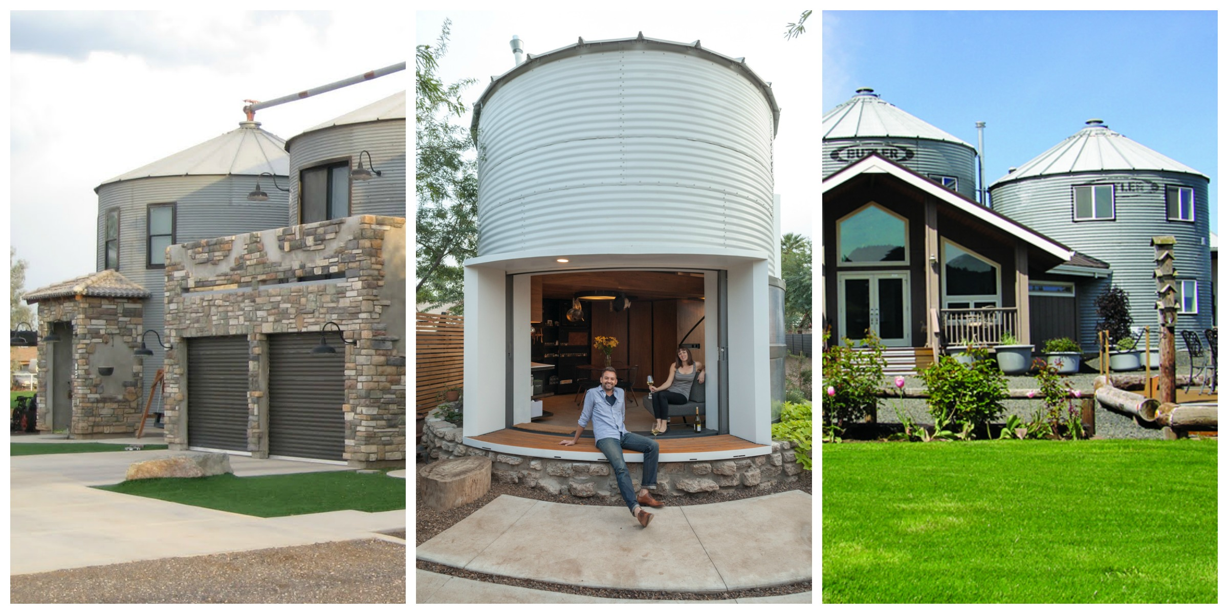 Silos Converted to Houses - Non-Traditional Homes