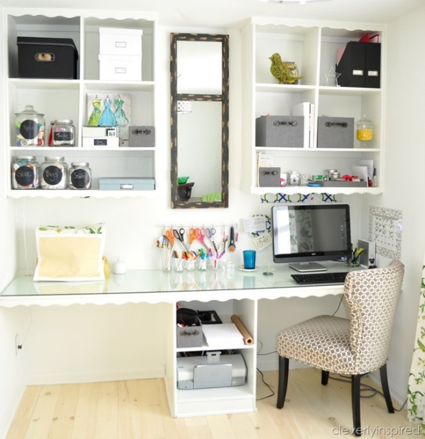 home office ideas how to decorate a home office - Simple Home Office