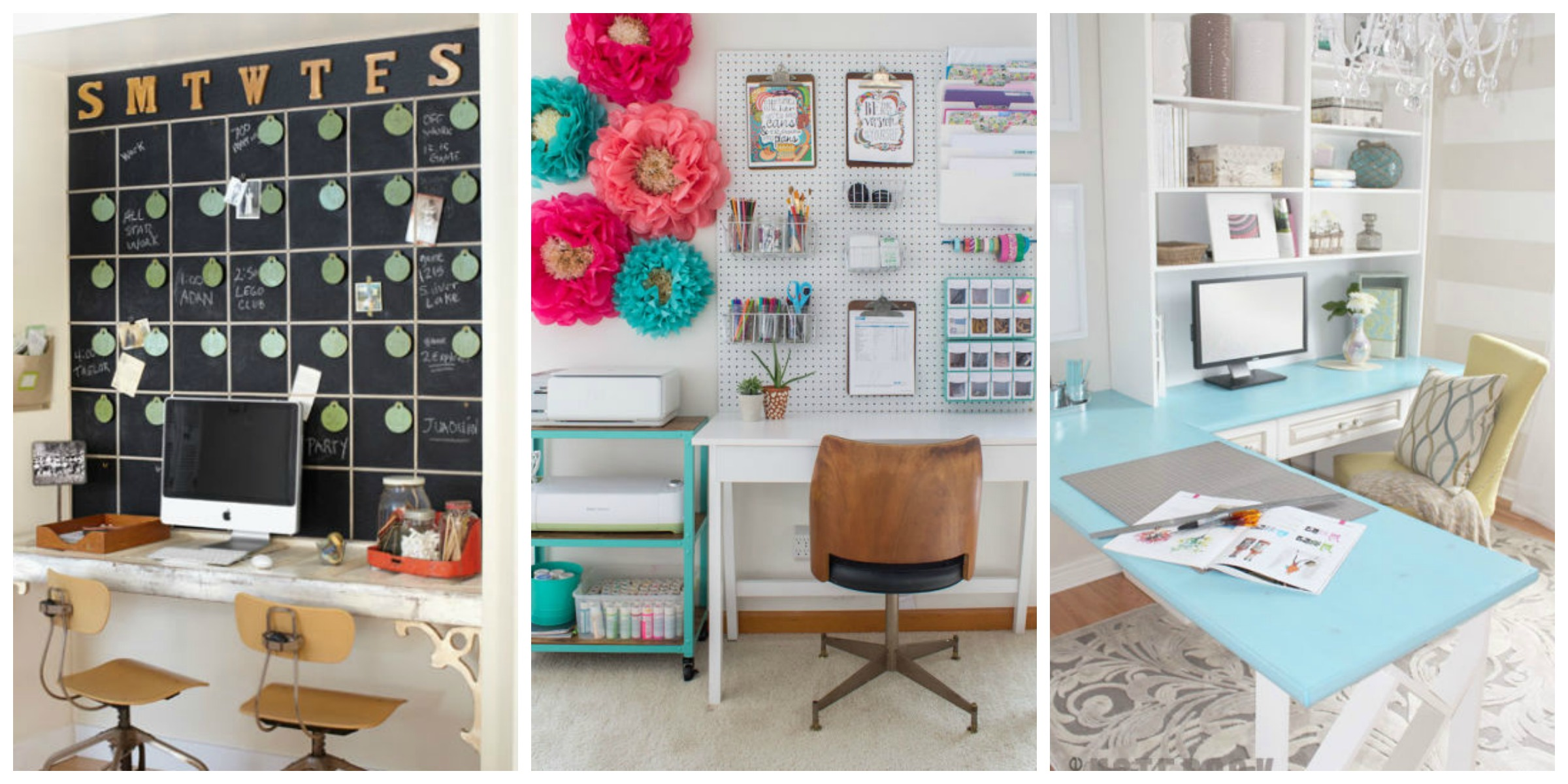 20 Inspiring Home Office Design Ideas For Small Spaces: How To Decorate A Home Office