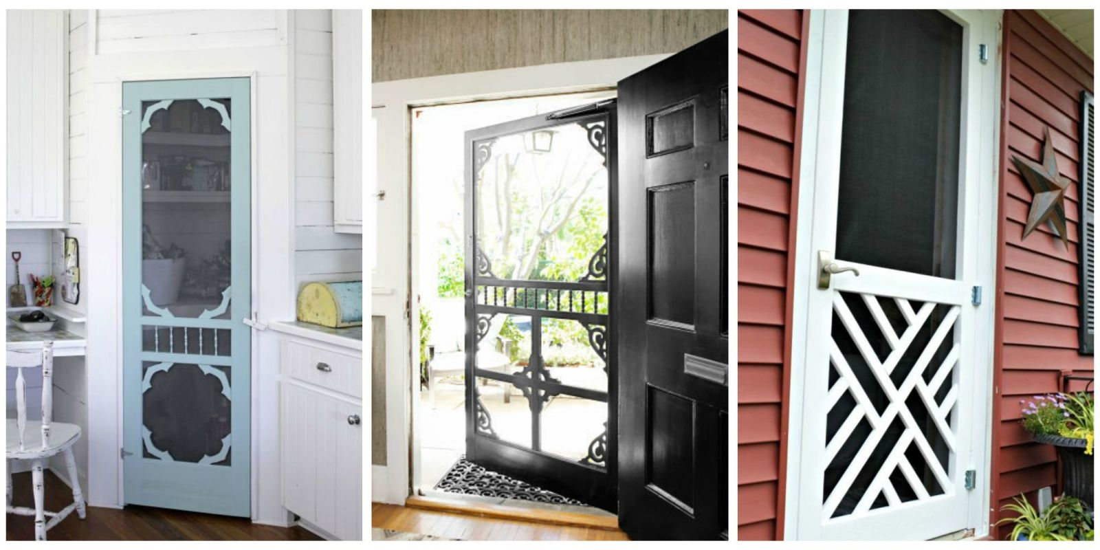 Country Screen Doors : Screen door ideas ways to use doors