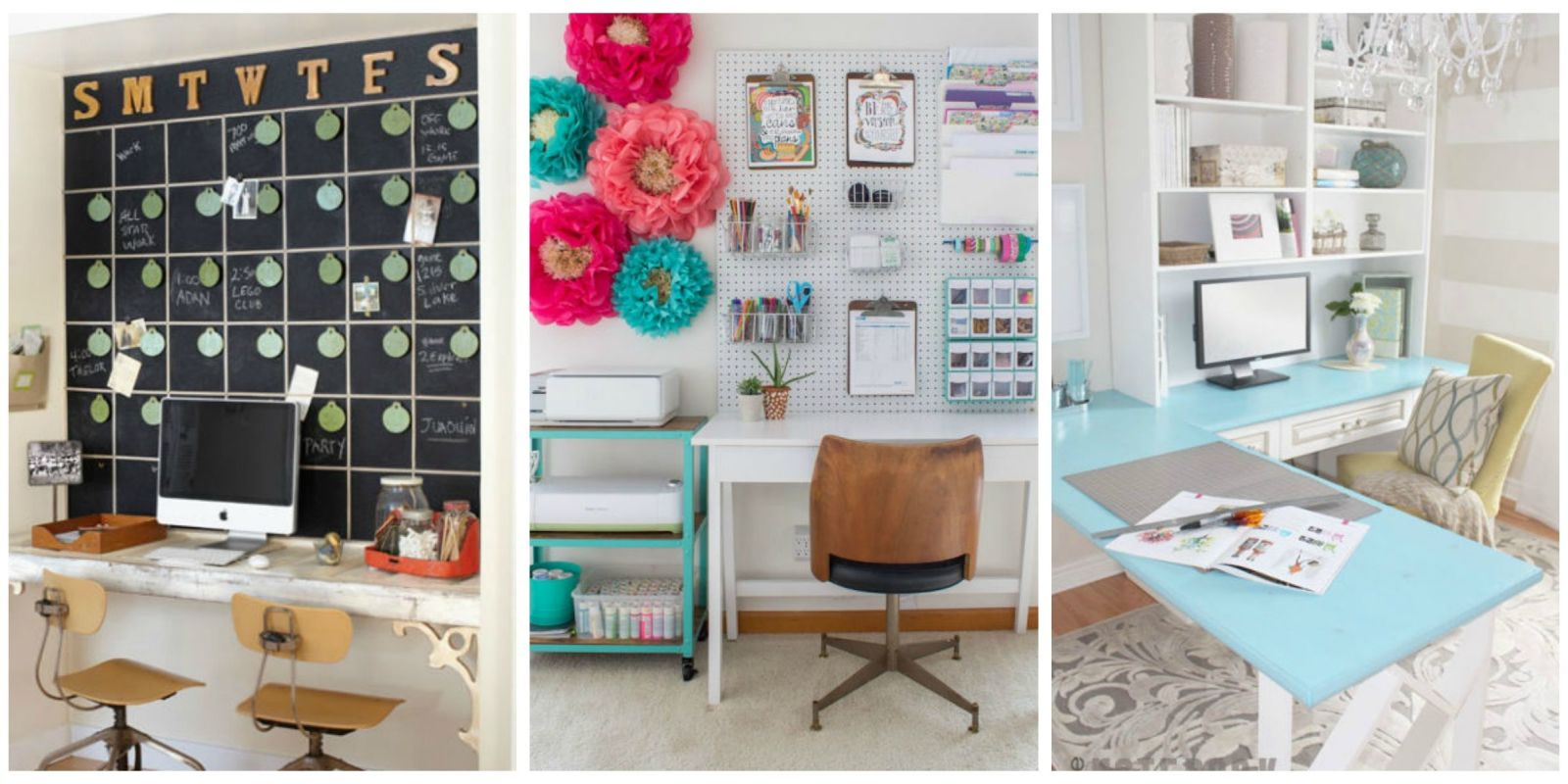 Home Office Ideas How To Decorate A Home Office - Cheap office decorating ideas