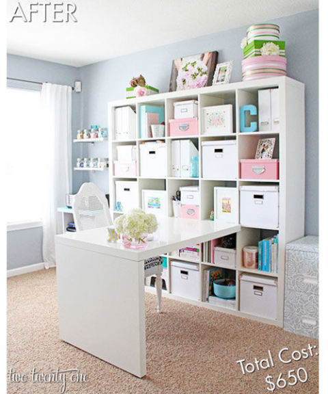 Home Office Space home office ideas - how to decorate a home office