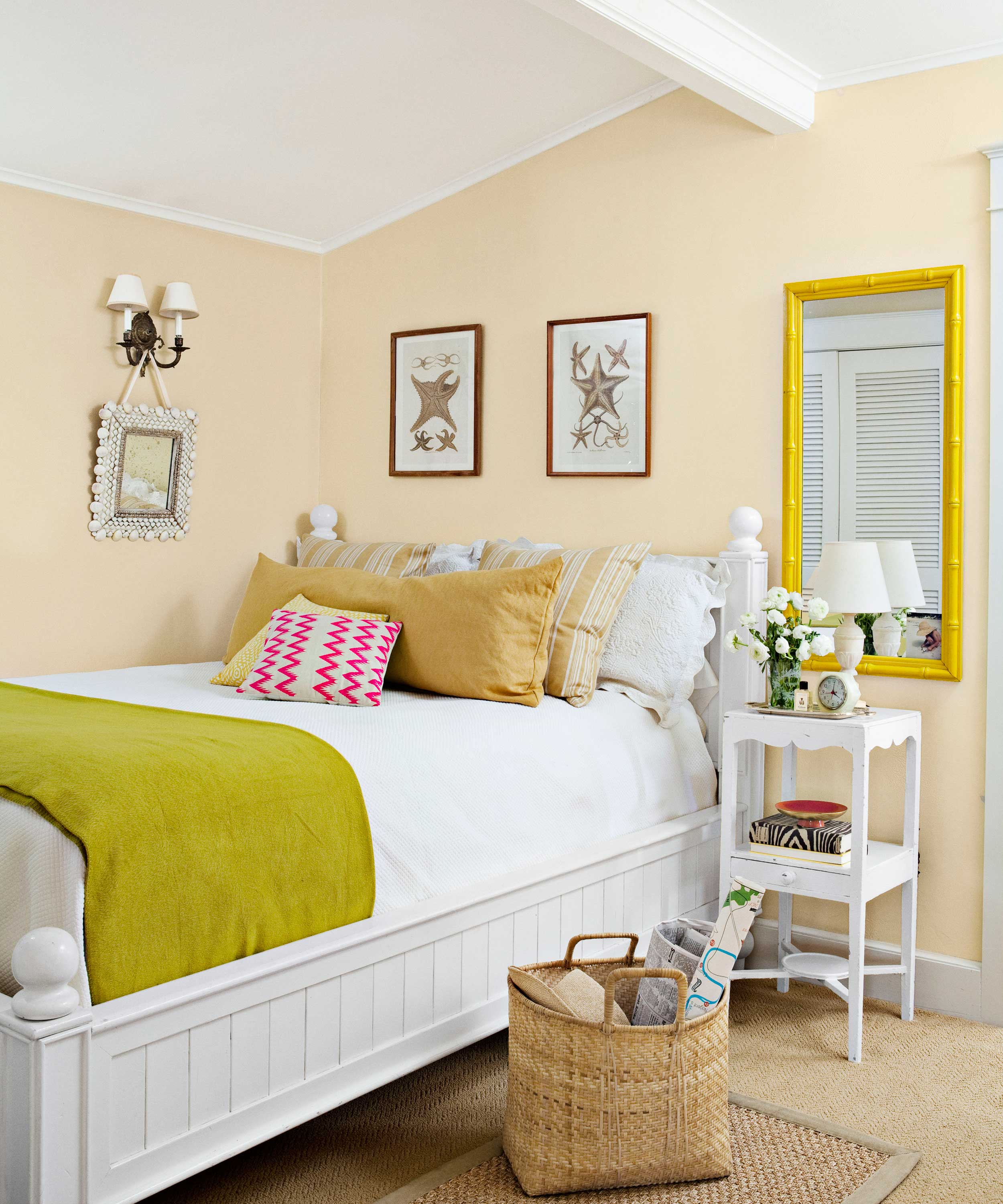 Lovely Paint Colors For Small Bedrooms #10: Country Living Magazine