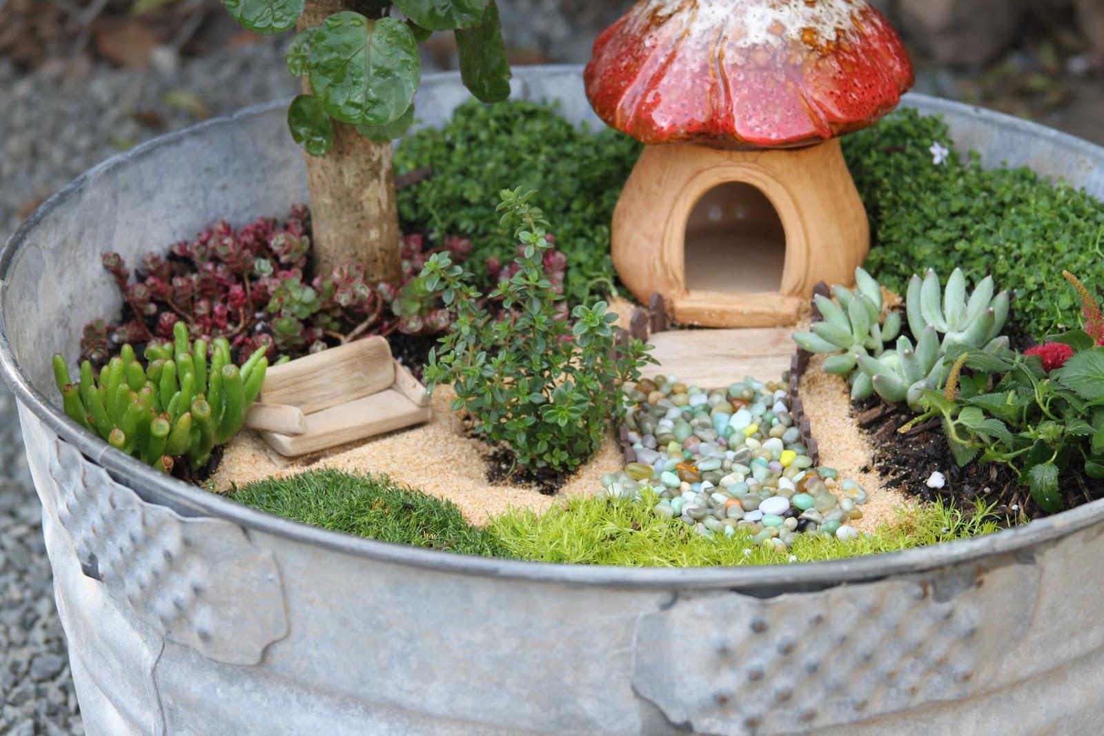 12 DIY Fairy Garden Ideas - How to Make a Miniature Fairy ... - photo#4