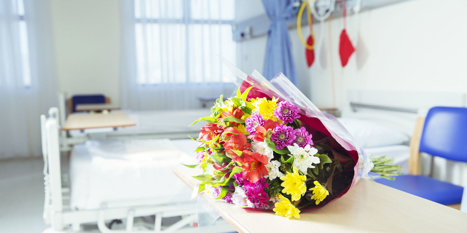 Hospitals Ban Flowers and Balloons Possible Infection From Hospital Gifts