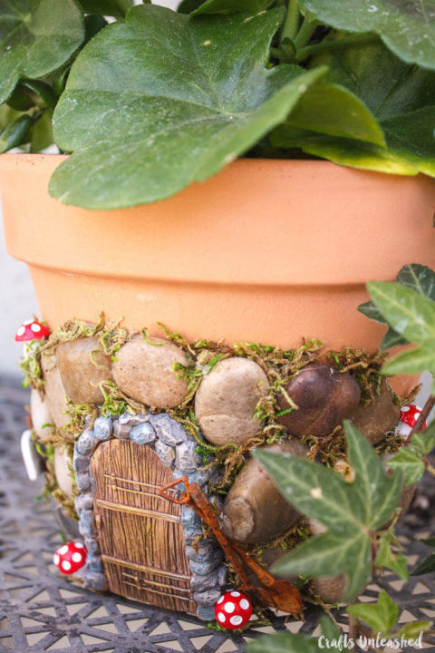 Fairy Gardens Ideas ad diy ideas how to make fairy garden Magical Diy Fairy House Planter