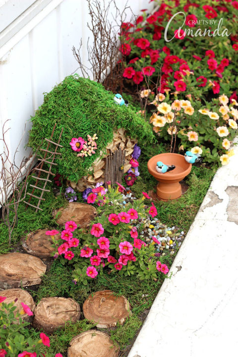 Fairy Gardens Ideas fairy garden arbor or trellis Planter Box Fairy Garden