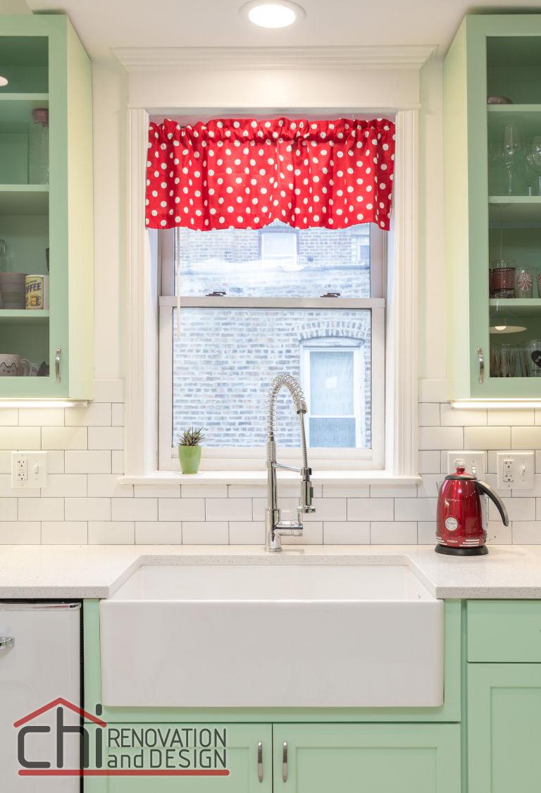 Retro Kitchen Renovation This Colorful Retro Kitchen Makeover Will Make You Feel Cheery