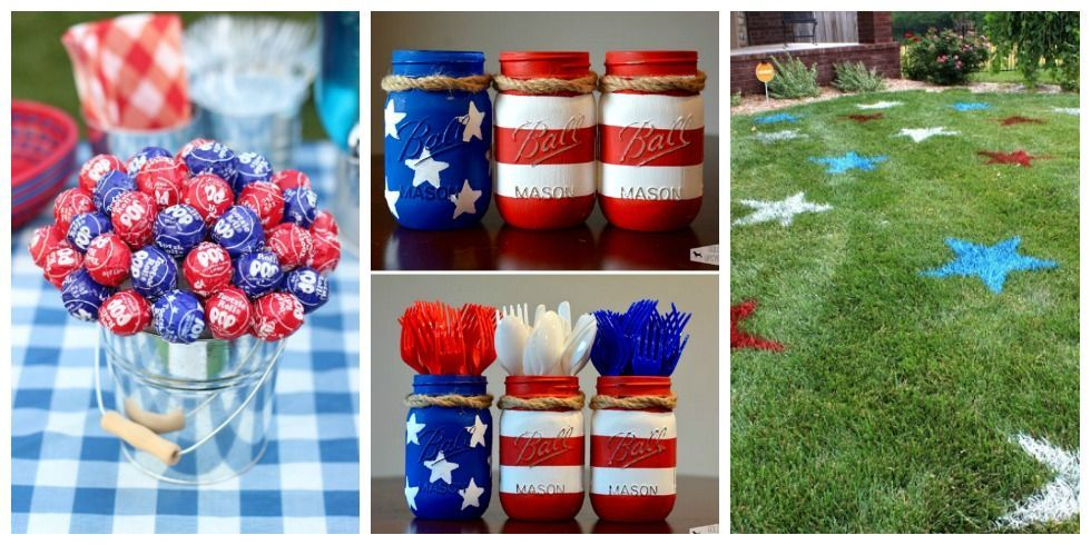 16 best 4th of july party ideas games diy decor for a for 4th of july decorating ideas for outside