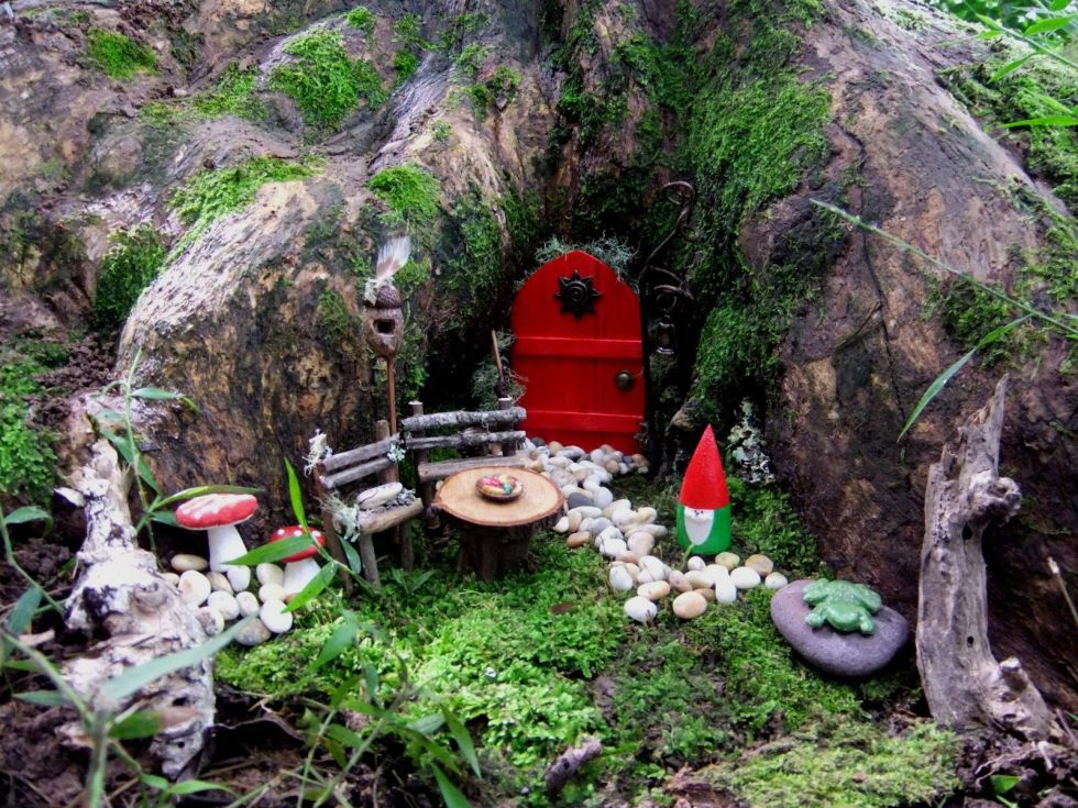 tree house - Fairy Garden Design Ideas