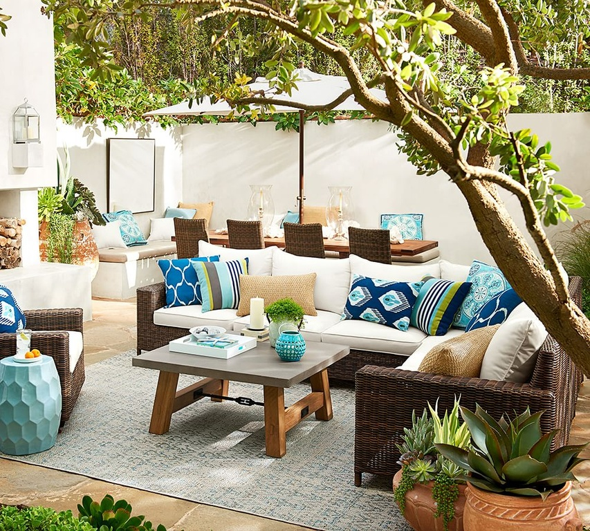 Summer 2016 design trends patio decorating trends for Outdoor furniture color trends 2017