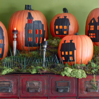 give your jack o lantern a new groove with playful patterns and designs - Halloween Pumpkin Decoration
