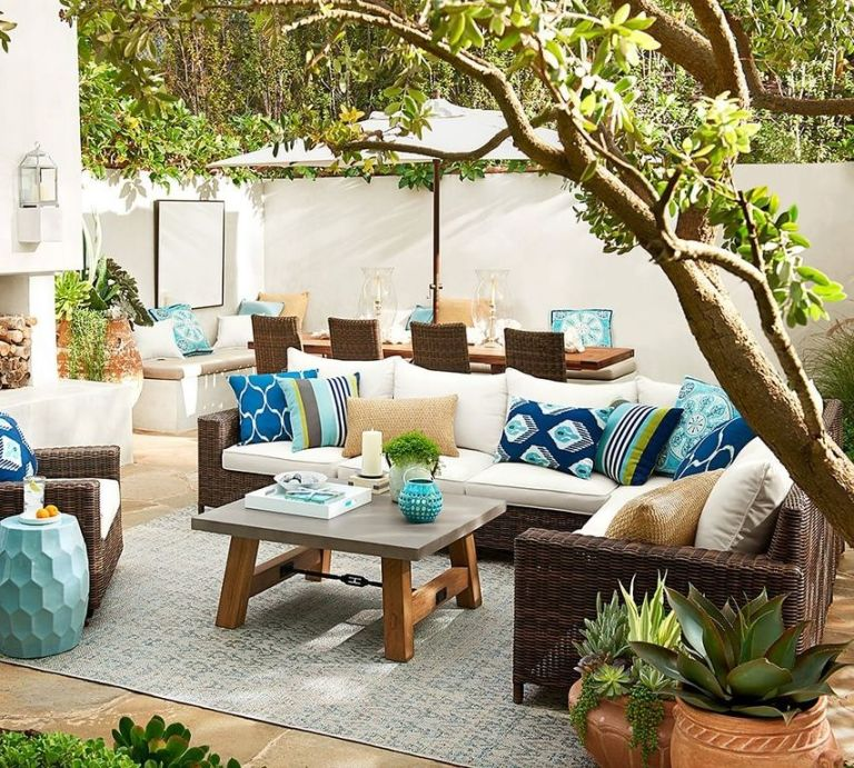 Outdoor Patio Living Summer 2016 Design Trends   Patio Decorating Trends