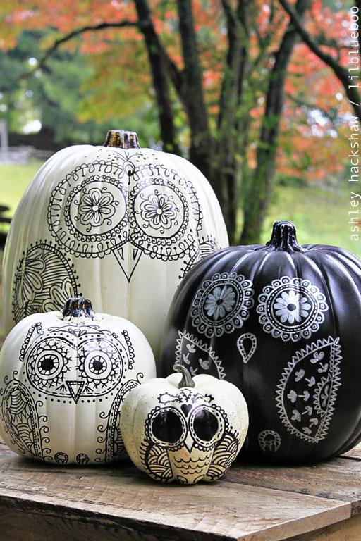 83 cool pumpkin decorating ideas easy halloween pumpkin decorations and crafts 2017 - Pumpkin Decoration