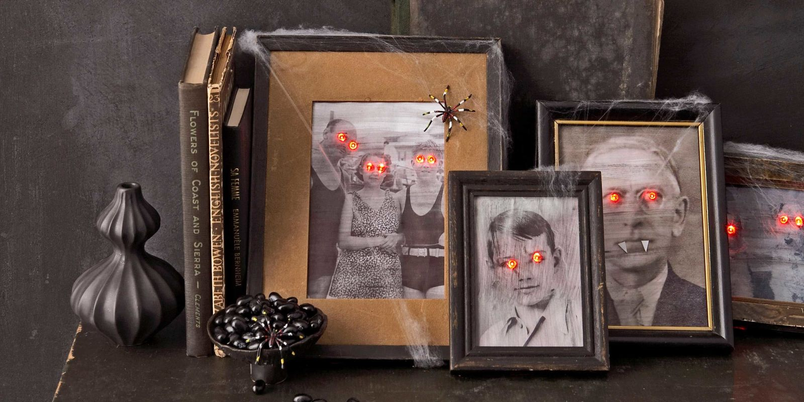 scary halloween decorations craft ideas for halloween. Black Bedroom Furniture Sets. Home Design Ideas