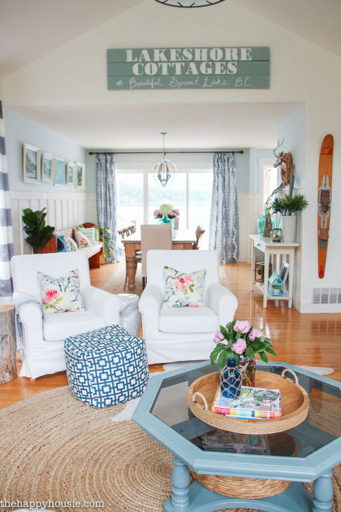 30 Summer Decorating Ideas - Easy Ways to Decorate Your Home for ...