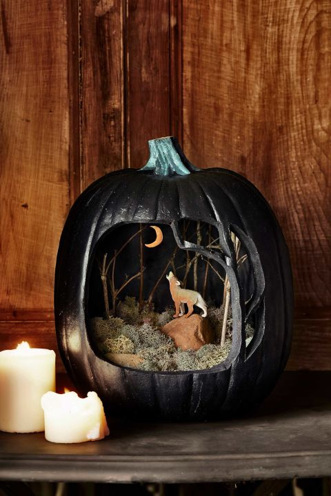 this craft pairs materials from your own yard with an 11w x 14 - Make Your Own Halloween Decorations