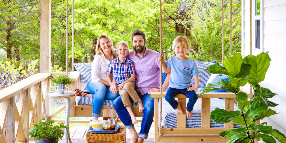 After a put-things-in-perspective vacation, a city-dwelling Oklahoma couple  decided to pare down, get their ducks in a row, and build a family home  from the ...
