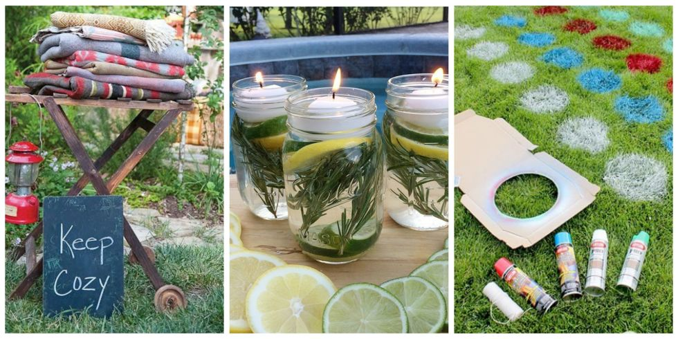 everyone will rsvp yes to your next party with these eye catching decorations and games - Backyard Entertaining Ideas