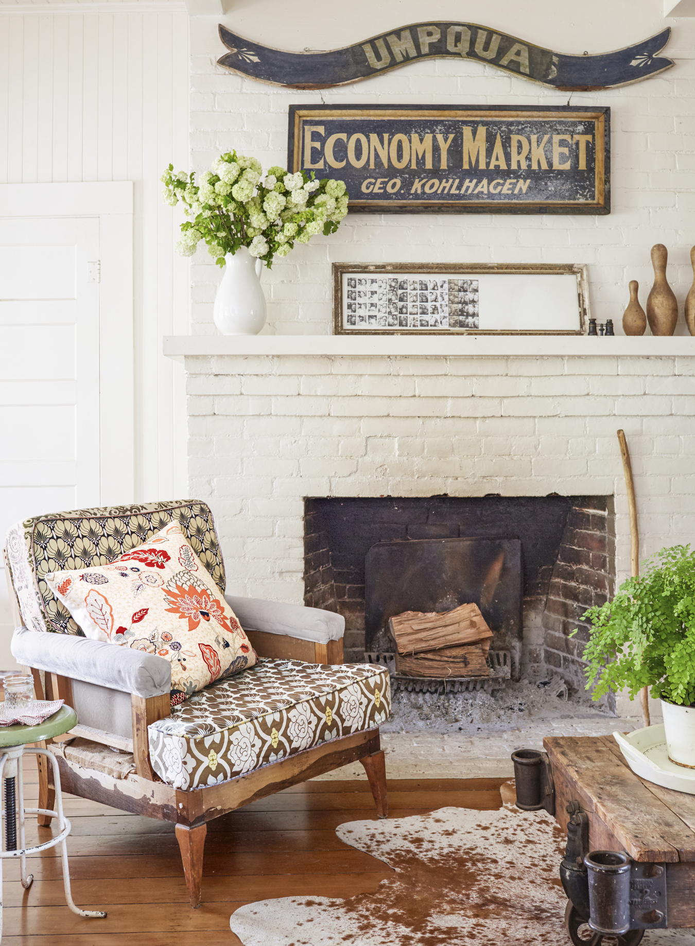 Farmhouse Living Room Decor Ideas: Butterbean Studios California Farmhouse