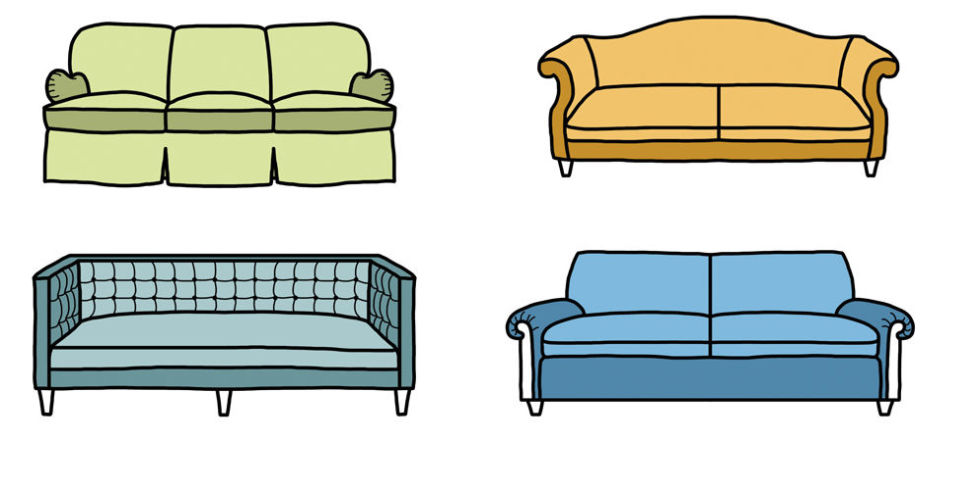 10 sofa styles different types of couches