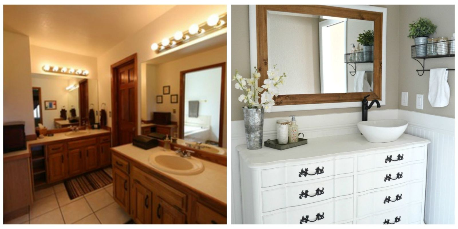 Home Makeover Ideas 5 brilliant design ideas from this elegant farmhouse bathroom