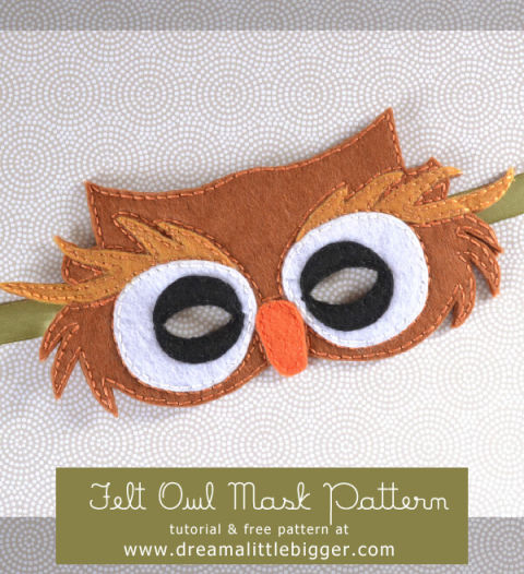 This handmade hit will have your kid hooting with joy. It's a felt design that's affordable and adorable. Get the tutorial at Dream A Little Bigger.