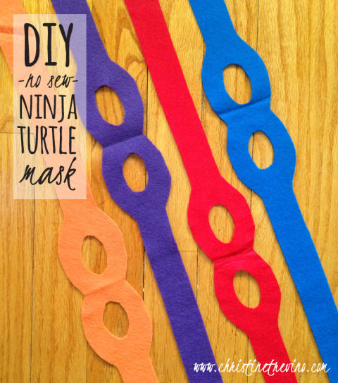 Your kids will feel unstoppable in these superhero-inspired masks. Get the tutorial at Christine Trevino.