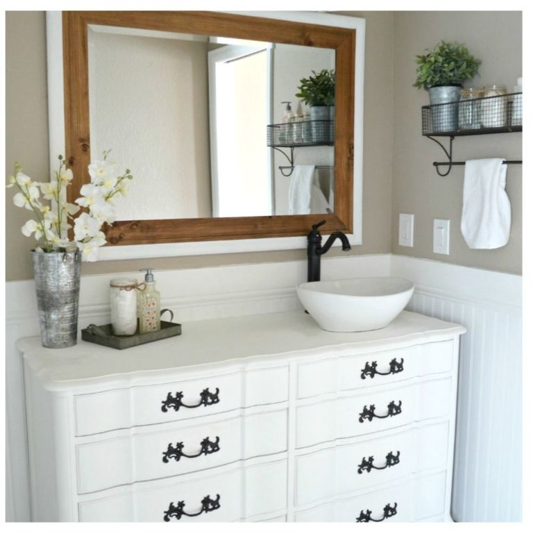 5 brilliant design ideas from this elegant farmhouse bathroom renovation — master bathroom makeover