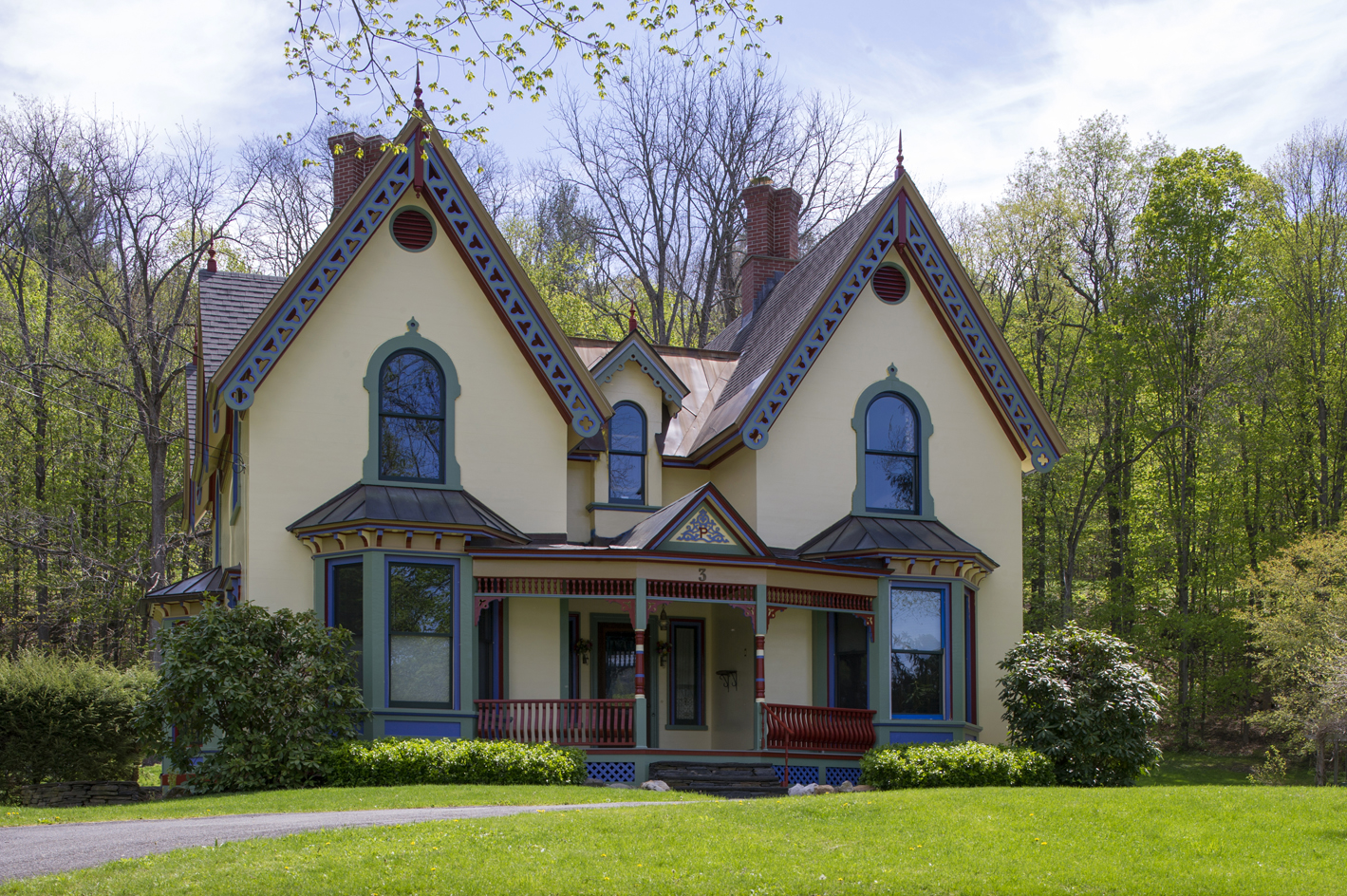 This is the gothic gingerbread house you 39 ve always wanted for Gothic revival farmhouse