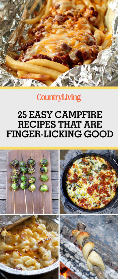 28 Best Campfire Recipes - Easy Camping Food Ideas