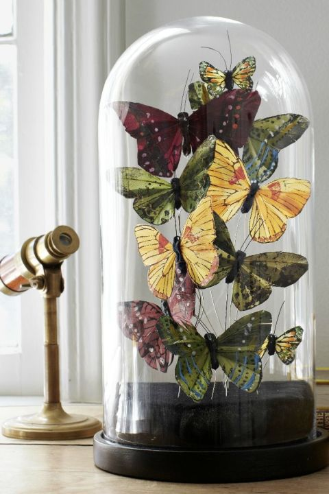 Crafting Ideas For Home Decor genius home decor ideas 21 Butterfly Cloches