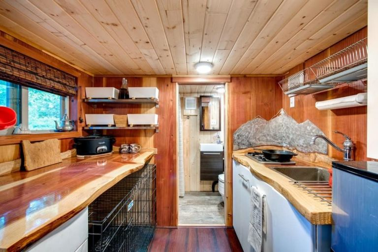 Tiny House With A Lot Of Storage.