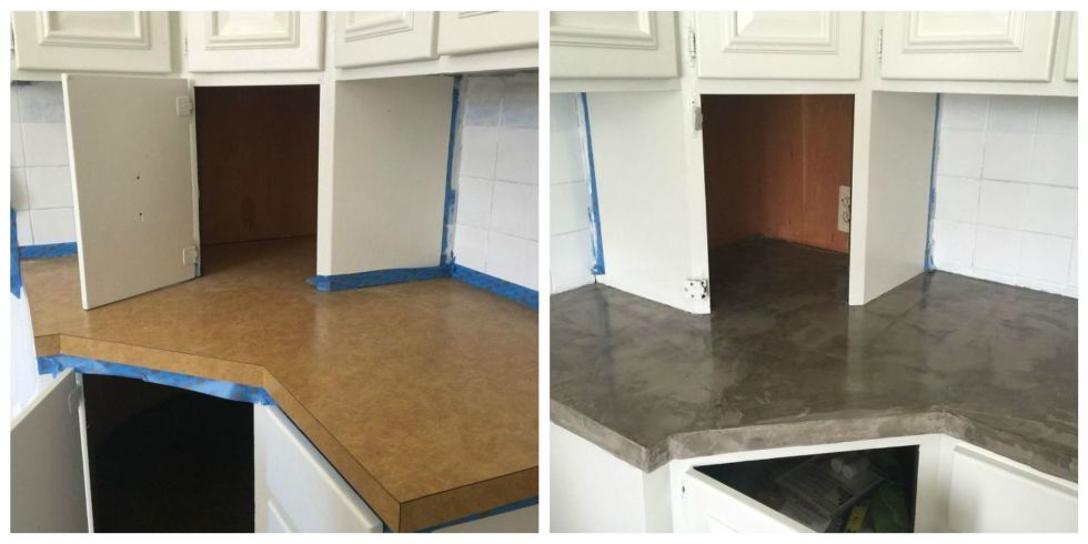 This Is Hands Down The Best (and Cheapest) Way To Update Your Laminate  Countertops.